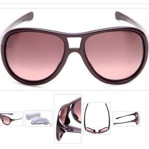 Oakley Twentysix Aviator Sunglasses Plum 009177-04